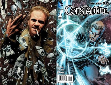 Hellblazer vs New 52 Constantine
