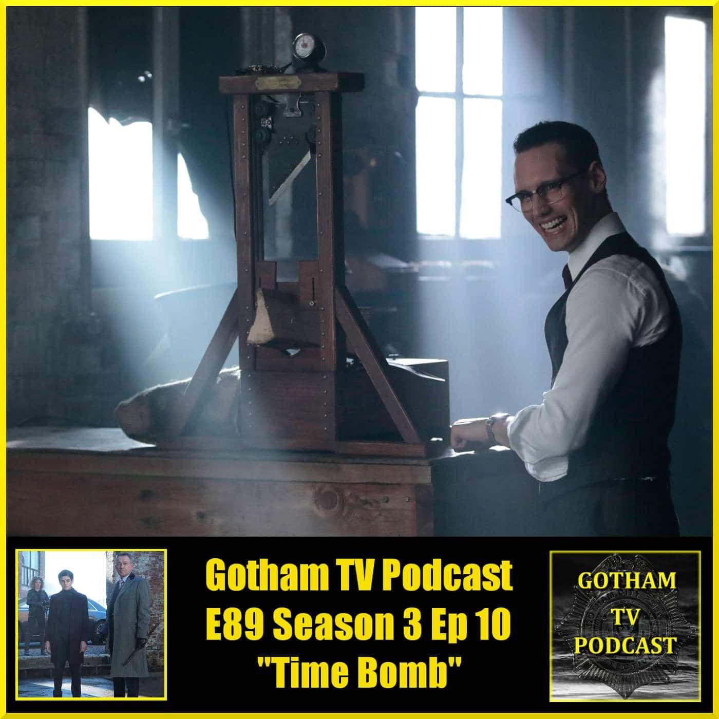 Rush season 1 episode 10 2014 - Gotham Season 3 Episode 10 Review Time Bomb Gotham Tv Podcast Episode 89