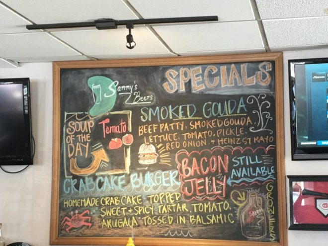 Daily Specials- change it up!