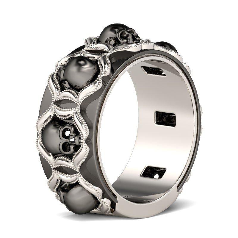 Gothic Wedding Bands Gothic Wedding Rings