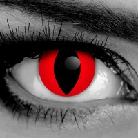 Red Cat Contact Lenses