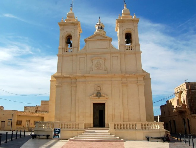 A church on Gozo