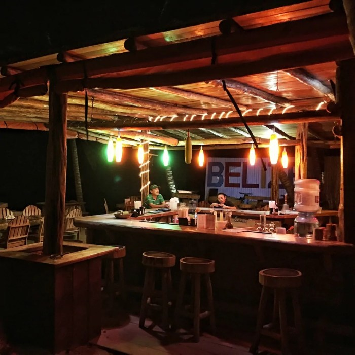 The Dive Bar in San Pedro, Belize