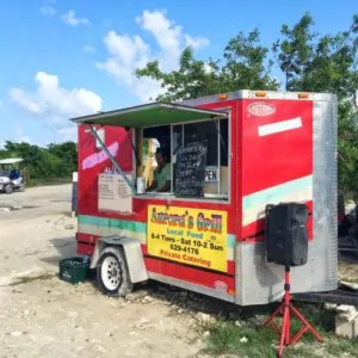 The Food Truck at Secret Beach