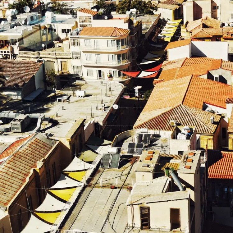 Ledra Street from above