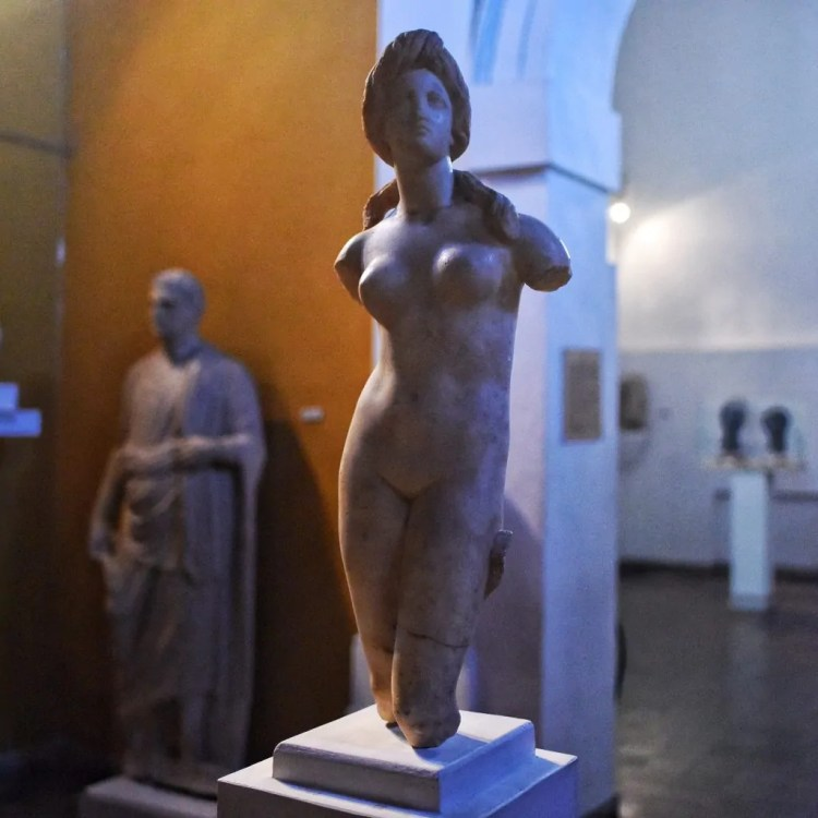 A statue of Aphrodite at the Cyprus Museum