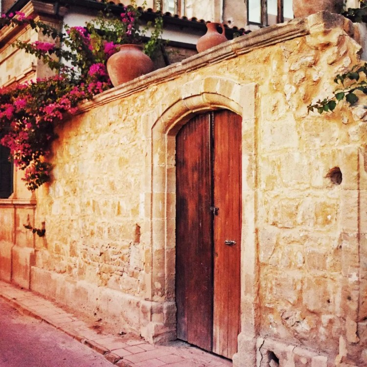 A beautiful doorway in north Nicosia