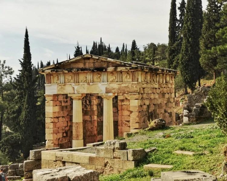 The Treasury of the Athenians