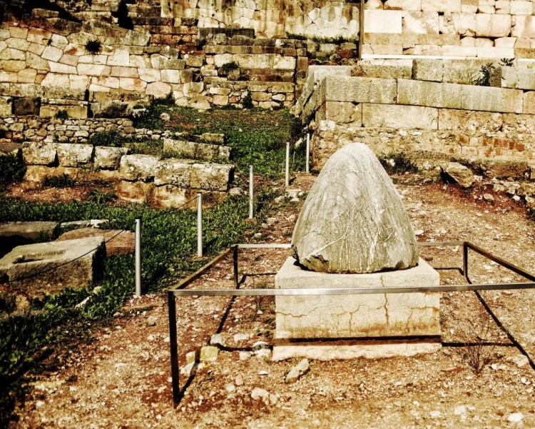 The Omphalos, the navel of the world