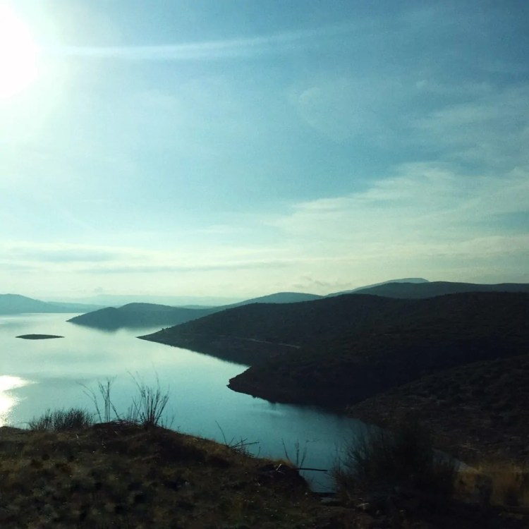 View from the ride to Delphi