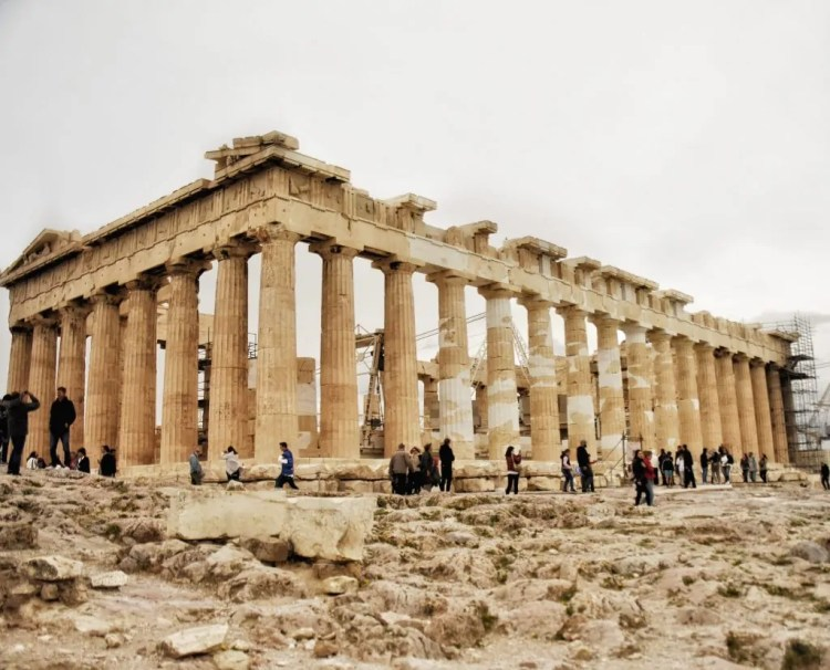The Parthenon--isn't she exquisite?