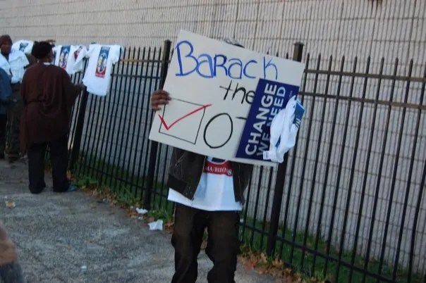 Barack the Vote Rally Sign
