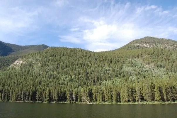 A pretty picture of Colorado from the trip in 2008 when I almost died