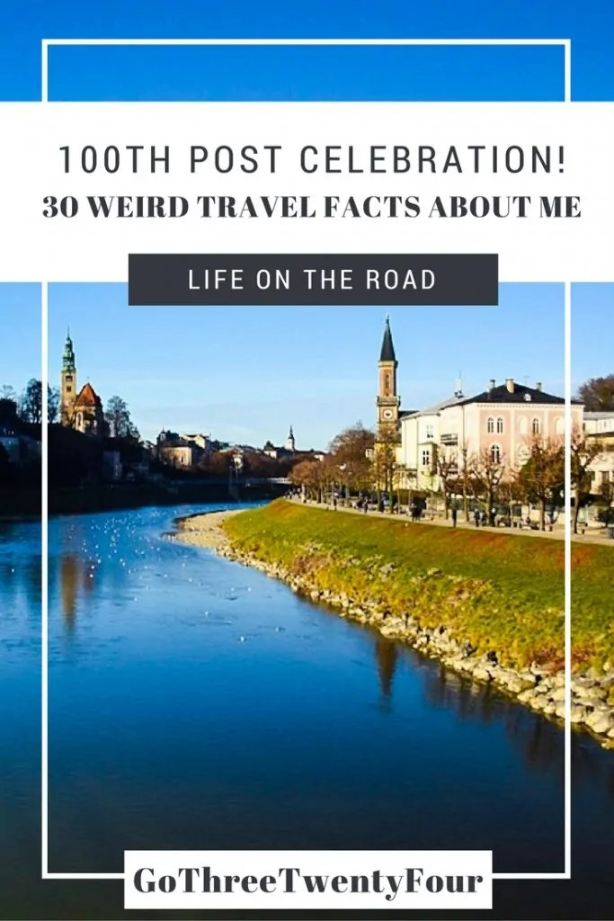 30 Weird Travel Facts About Me