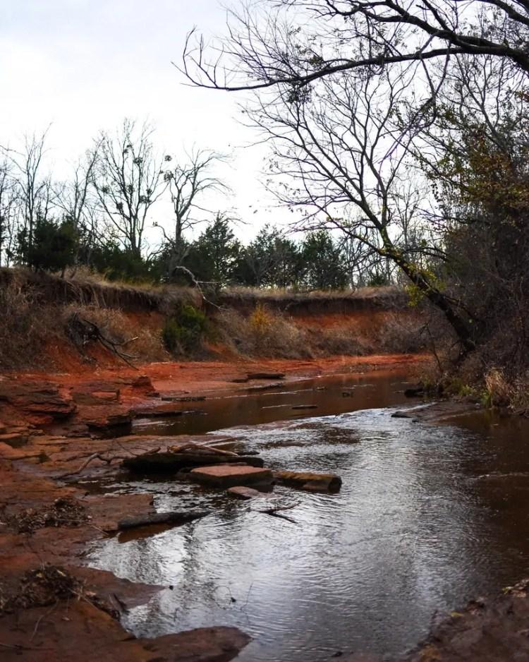 "The Creek sometimes pronounced ""Crick"" in Oklahoma"