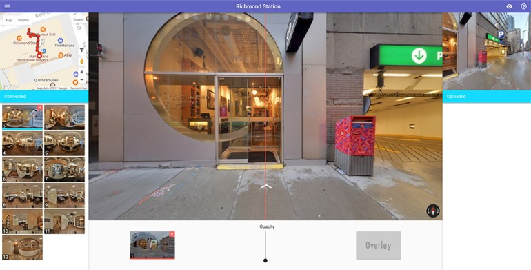 GoThru Street View Editor with Forge.js