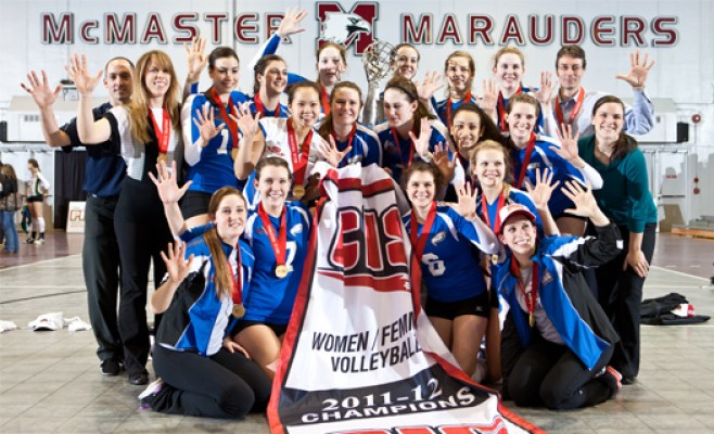 UBC wins CIS women's volleyball title for fifth time in a row