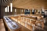 Nhà hàng ốp gỗ theo phong cách Nhật