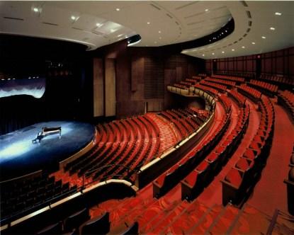 Xử lý âm thanh nhà hát với gỗ tiêu âm