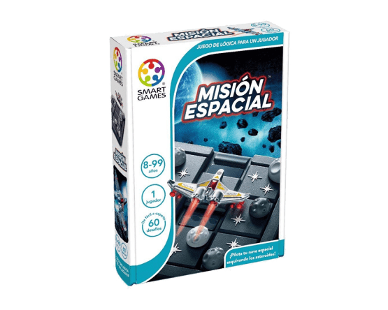 JUEGO DE LÓGICA SMART GAMES: MISIÓN ESPACIAL