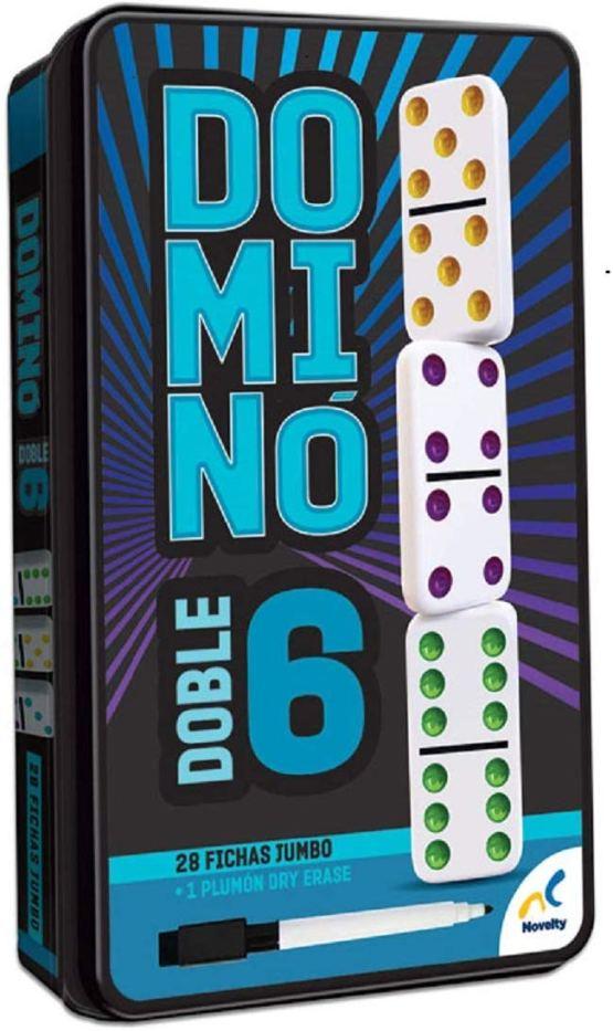 D-581 JUEGO DE MESA DOMINO DOBLE 6