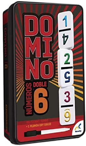 D-2437 DOMINO DOBLE 6 CON NUMEROS TIN