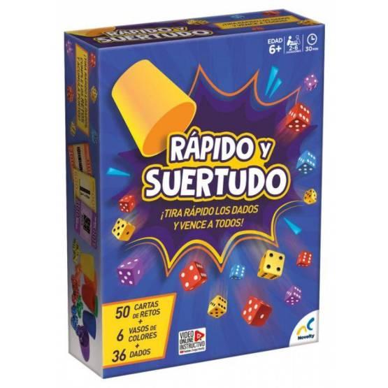 JCA-2420 RAPIDO Y SUERTUDO