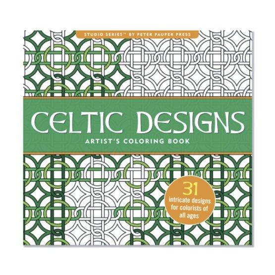 Libro para colorear Celtic Designs
