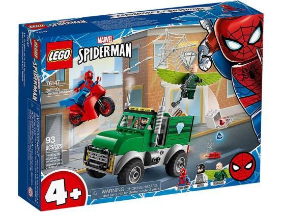 LEGO MARVEL SÚPER HÉROES ASALTO CAMIONERO DEL BUITRE 76147
