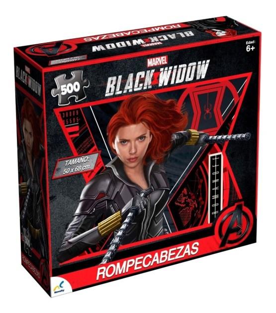 ROMPECABEZAS DE 500 PIEZAS: Black Widow