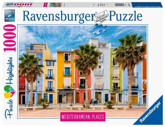 Rompecabezas 1000 Piezas Ravensburger: España Mediterránea