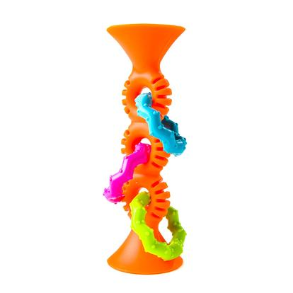 Fat Brain Toy: Squigz – Pip Squigz Loops Aros Naranja (SOBRE PEDIDO)