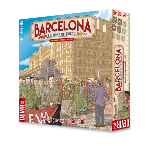 Barcelona: La Rosa de Fuego(SOBRE PEDIDO)