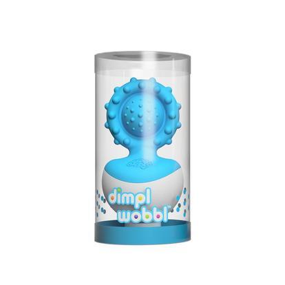 Fat Brain Toy: DIMPL – Wobbl Sonajero Azul (SOBRE PEDIDO)