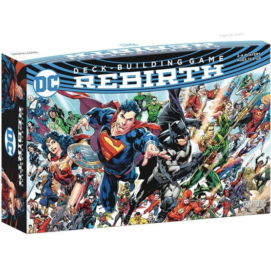 DC Comics Deck-Building Game: Rebirth INGLÉS (SOBRE PEDIDO)