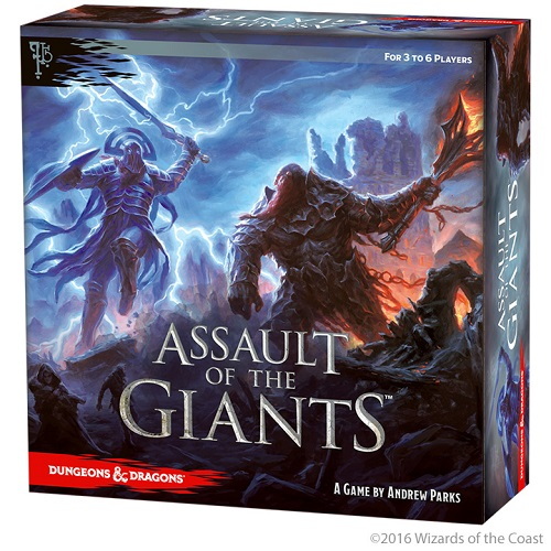 Dungeons & Dragons: Assault of the Giants BoardGame – Standard Edition (72185)(SOBRE PEDIDO)