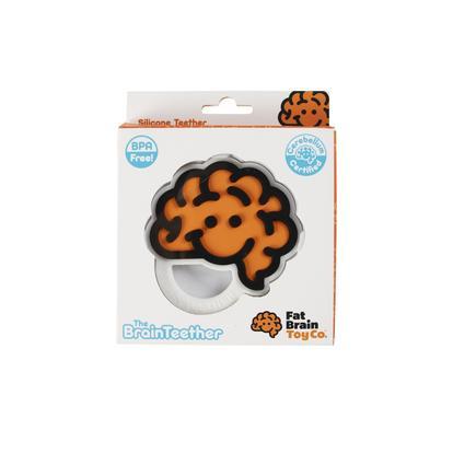 Fat Brain Toy: Mordedera – Cerebro Sonriente Naranja (SOBRE PEDIDO)