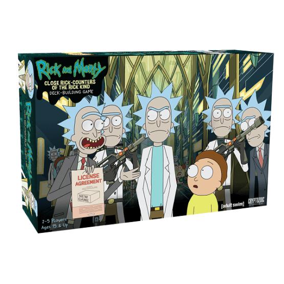 Rick and Morty: Close Rick-Counters of the Rick Kind Deck-Building Game – INGLÉS (SOBRE PEDIDO)
