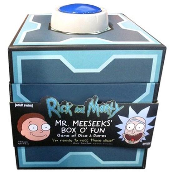 Rick and Morty: Mr Meeseeks Box O'Fun Game of Dice & Dares – English (SOBRE PEDIDO)