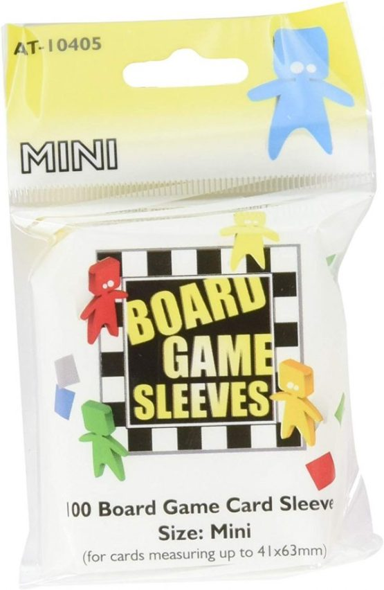 Arcane Tinmen: Small Board Game Sleeves 100ct. (Mini American) (41 x 63 mm)(SOBRE PEDIDO)