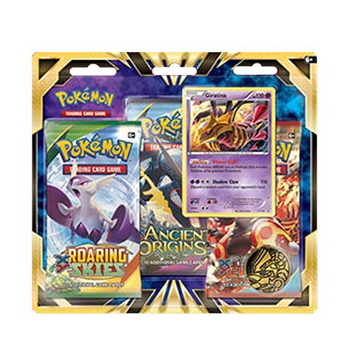 Pokémon TCG: Giratina 3-Pack Blister –  ENGLISH (modelo 80286) ( SOBRE PEDIDO)