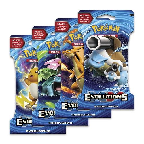 Pokémon TCG: XY12 –  Evolutions  Sleeved Booster (modelo 80156) *SOBRE PEDIDO*
