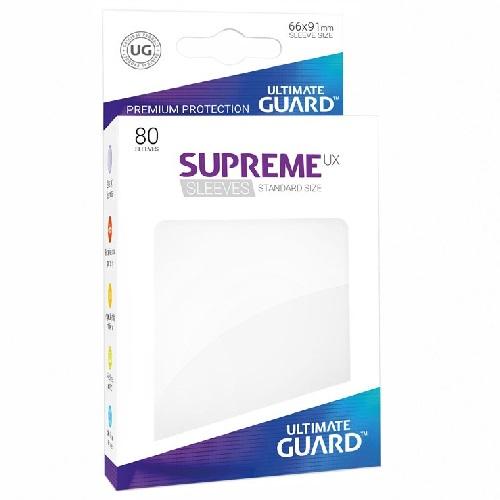 Ultimate Guard Supreme UXSLVS STD White (80) (UGD010532CN) (SOBRE PEDIDO)