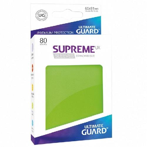 Ultimate Guard Supreme UXSLVS STD Light Green (80) *SOBRE PEDIDO*