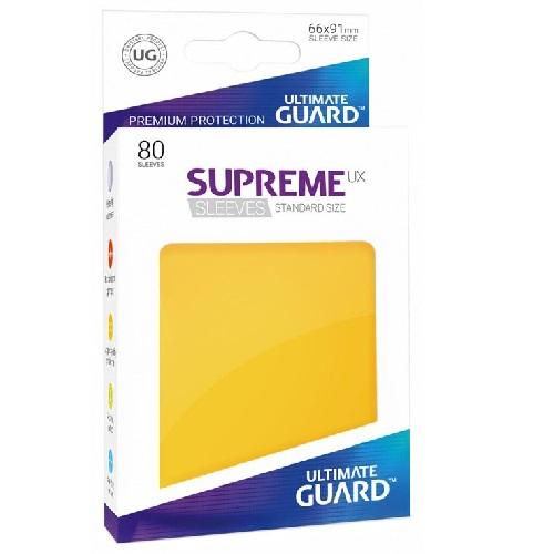 Ultimate Guard Supreme UXSLVS STD Yellow (80) (UGD010546CN) ( SOBRE PEDIDO)