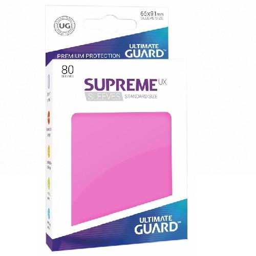 Ultimate Guard Supreme UXSLVS STD Pink (80) (UGD010543CN) (SOBRE PEDIDO)