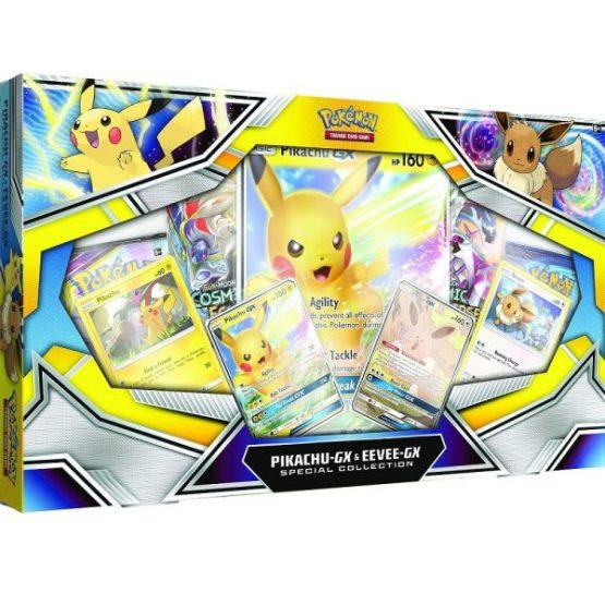 Pokémon TCG: Pikachu-GX & Eevee-GX Special Collection INGLES (SOBRE PEDIDO )