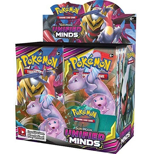 Pokémon TCG: Sun & Moon – Unified Minds Booster DISPLAY INGLES ( SOBRE PEDIDO)