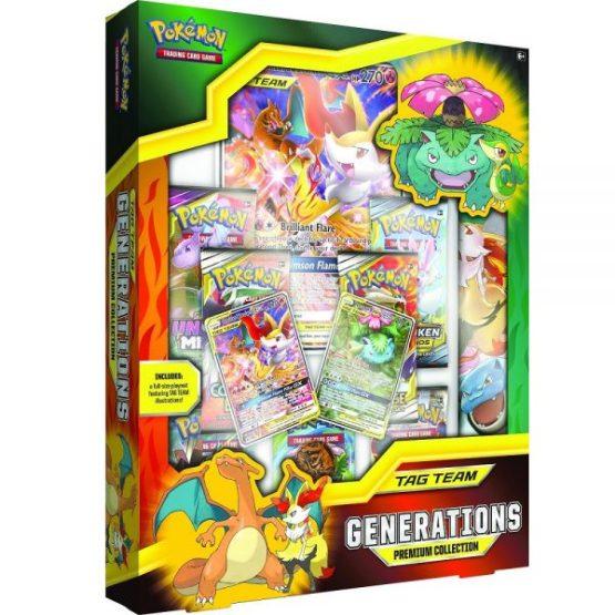 Pokémon TCG: TAG TEAM Generations Premium Collection INGLES (SOBRE PEDIDO)