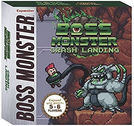 Boss Monster: Crash Landing – INGLES EXPANSIÓN (SOBRE PEDIDO)